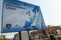KOSOVO Pristina 9 maggio 2008 Manifesto per l'integrazione nell'Unione Europea