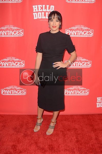 Courtney Reed<br /> at the Hello Dolly! Los Angeles Premiere, Pantages Theater, Hollywood, CA 01-30-19<br /> David Edwards/DailyCeleb.com 818-249-4998