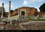 Portico of Gaius and Lucius Caesar Basilica Aemilia Forum Romanum Rome