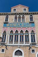 Italie, Vénétie, Venise:  Immeuble de la Adriatica di Navigazione de Venise sur le Canal de la Giudecca // Italy, Veneto, Venice:  Adriatica di Navigazione de Venise building on Giudecca Canal
