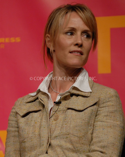 """WWW.ACEPIXS.COM . . . . .....April 27 2007, New York City....Actress Mary Stuart Masterson speak during the """"Bringing Home The Bacon"""" panel discussion at the 2007 Tribeca Film Festival....Please byline: Kristin Callahan - ACEPIXS.COM..... *** ***..Ace Pictures, Inc:  ..Philip Vaughan (646) 769 0430..e-mail: info@acepixs.com..web: http://www.acepixs.com"""