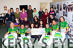 The organising committee of the 54321 Challenge presents a cheque of €9400 to the St John of god service on Thursday evening front row l-r: Noreen sheahan, Mark Doe, Claire O'Dwyer, Carole Moran, TJ O'Connor, Fiona Collins, Michael O'Shea. Middle row: Nora McCarthy, padraig O'Mahony, Claire Rohan, Philip O'Brien. Back row: Hannah Cahillane, Catherine Hunt, Ann O'Brien, Sinead O'Shea, Damian McCarthy, breda Lyne, Paul O'Sullivan, Teresa O'Brien, and Bridget O'Brien