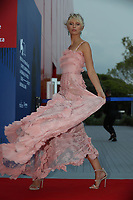VENICE, ITALY - SEPTEMBER 01: Karolina Kurkova  attendS the Franca Sozzanzi Award during the 74th Venice Film Festival on September 1, 2017 in Venice, Italy. <br /> CAP/GOL<br /> &copy;GOL/Capital Pictures /MediaPunch ***NORTH AND SOUTH AMERICAS ONLY***