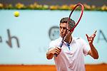 Caja Magica. Madrid. Spain. 07.05.2014. Mutua Madrid Open, Match beetwen Gilles Simon vs Lukasz Kubot