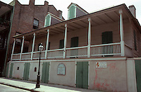 New Orleans:  Madame John's Legacy, 632 Dumaine St.  After 1788.  Robert Jones, builder.