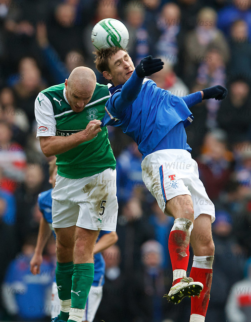 Nikica Jelavic and Sean O'Hanlon