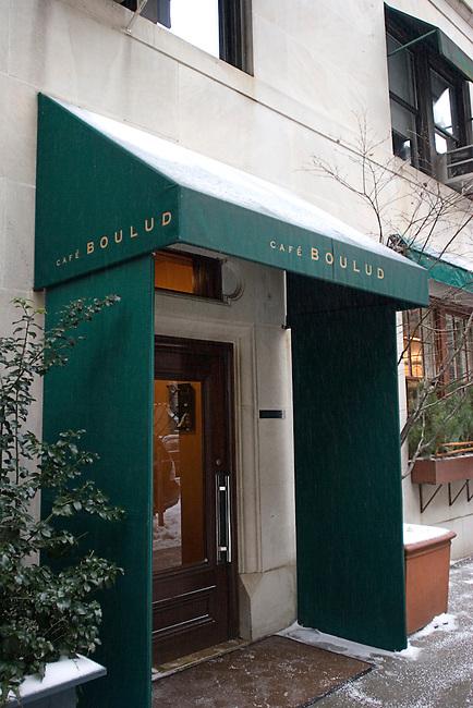 Cafe Boulud, New York, New York