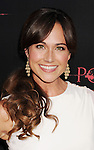 HOLLYWOOD, CA - AUGUST 28: Nikki DeLoach arrives at the 'The Possession' - Los Angeles Premiere at ArcLight Cinemas on August 28, 2012 in Hollywood, California.