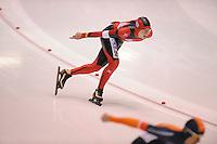 SCHAATSEN: HEERENVEEN: IJsstadion Thialf, 31-01-15, Viking Race, Internationaal Jeugdtoernooi 11-16 jaar, Tim Büschgen (GER), ©foto Martin de Jong