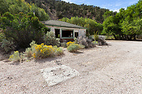 Carrol Station along Highway 722 in Nevada was once a Texaco gas staion and local watering hole along the Lincoln Highway and US 50. The gas station was likely closed in the early 60's when US 50 was re-routed to the north over New Pass.