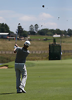 Morten Orum Madsen (DEN) plays second shot to the 4th during Round Two of The Tshwane Open 2014 at the Els (Copperleaf) Golf Club, City of Tshwane, Pretoria, South Africa. Picture:  David Lloyd / www.golffile.ie