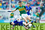David Clifford Kerry in action against Danny Cusack Cavan in the All Ireland Minor Semi Final in Croke Park on Sunday.