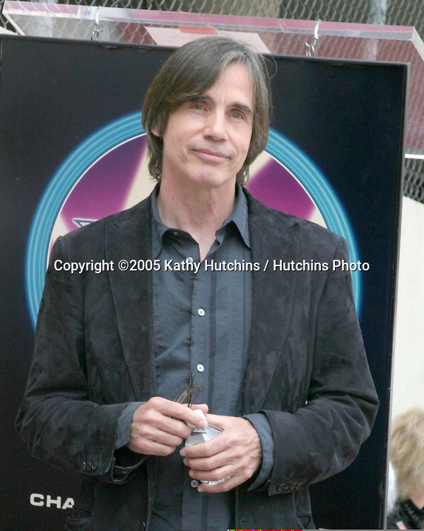 Jackson Browne.Jim Ladd receives Star on the .Hollywood Walk of Fame.Hollywood  CA.May 6, 2005.©2005 Kathy Hutchins / Hutchins Photo