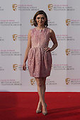 London, UK. 8 May 2016. Actress Maisie Williams. Red carpet  celebrity arrivals for the House Of Fraser British Academy Television Awards at the Royal Festival Hall.