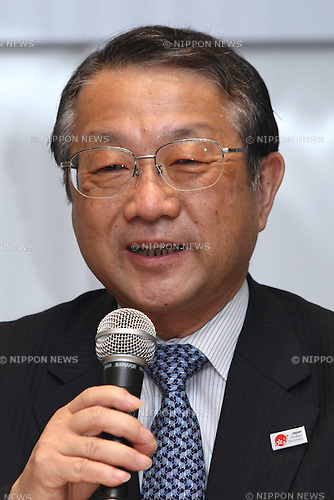 May 10, 2010 - Tokyo, Japan - Hideo Tamai,commissioner of Japan's Agency for Cultural Affairs, answers journalists' questions during a press conference in Tokyo on May 10, 2010. Japanese traditional actors, actress and musicians will be performing at Expo 2010 Shanghai between June 12-16. 255 countries and international organizations have confirmed their participation at Expo 2010 and some 70 million visitors are expected to attend in the six months before it closes on Oct. 31.