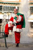 Tony Sleiman in Santa Suit at the Landing Jacksonville, fl