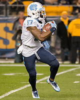 North Carolina wide receiver Anthony Ratliff-Williams returns the opening kickoff 98 yards for a touchdown.The North Carolina Tarheels defeated the Pitt Panthers football team 34-31 at Heinz Field, Pittsburgh, Pennsylvania on November 9, 2017.