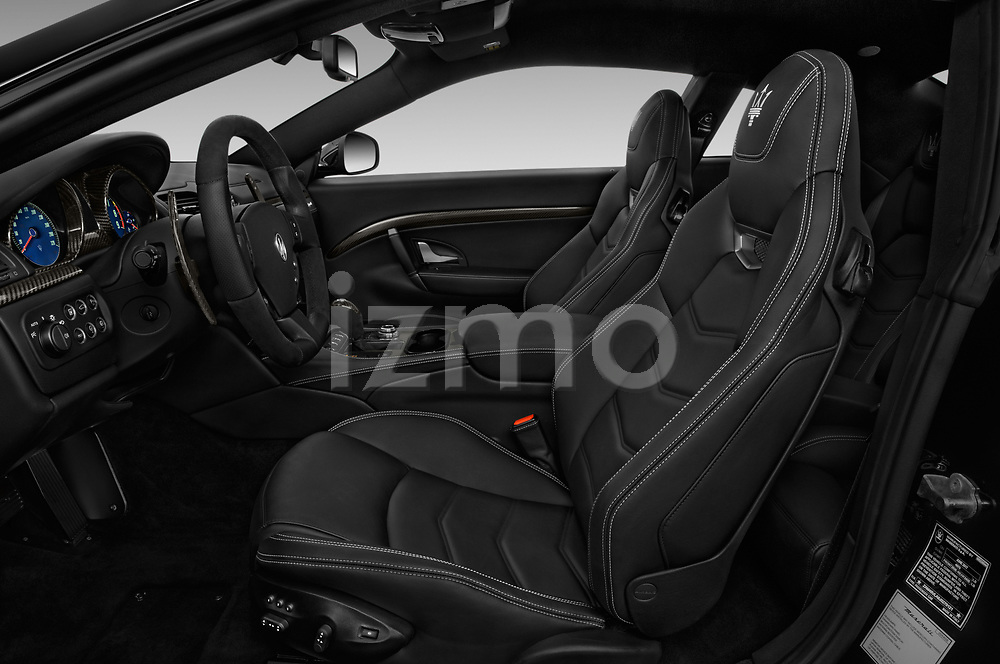 Front seat view of a 2018 Maserati GranTurismo Sport 2 Door Coupe front seat car photos