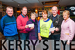 Karokie Night Proceeds; The proceeds of a Karokie night held recently at Mike the Pies Bar, Listowel were presented to the Listowel laundry & Listowel Hospice , €350.00 each. L- R: Aidan O'Connor, Jim Hannon, Joan Kenny, Kay Hanley, Mike Walsh, Organiser & Julie Gleeson.