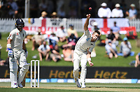 21st November 2019; Mt Maunganui, New Zealand;  Tim Southee bowling.<br />