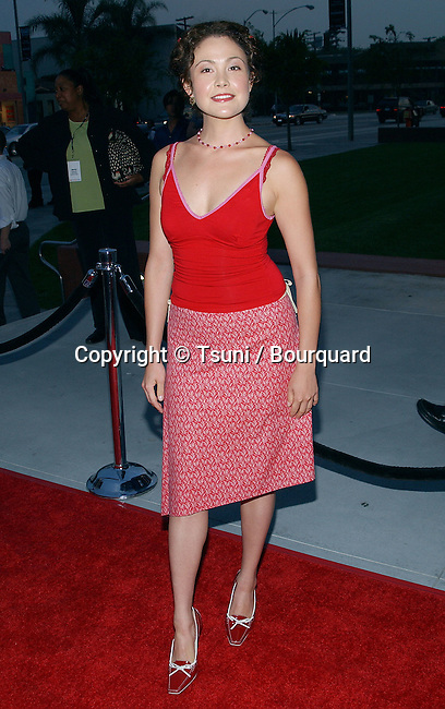 "Reiko Aylesworth (24) arriving at the "" 2003 Fox Summer tca Party "" at the Pacific Design Center in Los Angeles. july 18, 2003."
