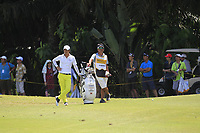 Ryo Ishikawa (JPN) in action on the 9th during Round 3 of the Maybank Championship at the Saujana Golf and Country Club in Kuala Lumpur on Saturday 3rd February 2018.<br /> Picture:  Thos Caffrey / www.golffile.ie<br /> <br /> All photo usage must carry mandatory copyright credit (© Golffile | Thos Caffrey)