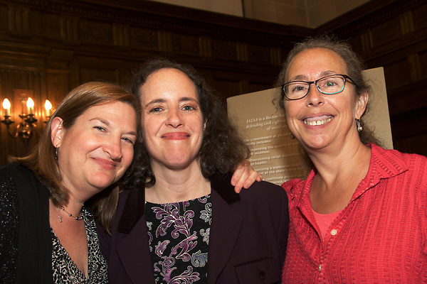 Jewish Alliance for Law and Social Action Wonder Women of Jewish Social Justice celebration of former Executive Director Sheila Decter and new Executive Director Cindy Rowe and the creation of the JALSA Vision Fund at Temple Israel 9.14.17