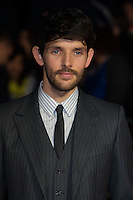 Colin Morgan arriving for a screening of 'Testament of Youth' during the 58th BFI London Film Festival at Odeon Leicester Square, London.  14/10/2014 Picture by: Dave Norton / Featureflash