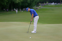 Richie Ramsey putts on the 3rd green during the BMW PGA Golf Championship at Wentworth Golf Course, Wentworth Drive, Virginia Water, England on 28 May 2017. Photo by Steve McCarthy/PRiME Media Images.