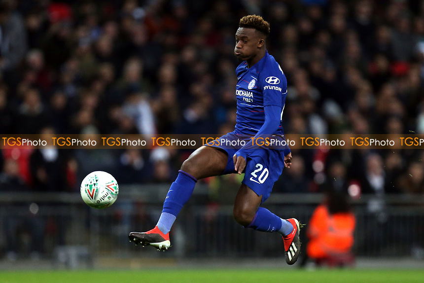 Callum Hudson-Odoi of Chelsea during Tottenham Hotspur vs Chelsea, Caraboa Cup Football at Wembley Stadium on 8th January 2019