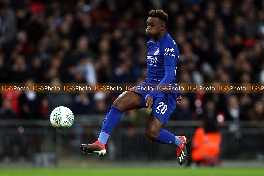 Callum Hudson-Odoi of Chelsea during Tottenham Hotspur vs Chelsea, Caraboa Cup Football at Wembley Stadium on 8th January 2019