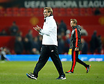Manager of Liverpool, Jurgen Klopp following victory during the UEFA Europa League match at Old Trafford. Photo credit should read: Philip Oldham/Sportimage