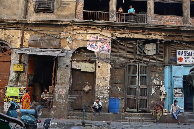 Old architecture in Kolkata.