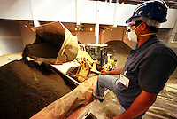Início doe Embarque de cobre da CVRD Sossego.<br />Canaã dos Carajás, Pará, Brasil<br />03/2004<br />Foto Paulo Santos/Interfoto
