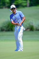 C.T. Pan (TAI) watches his putt on 2 during round 1 of the Shell Houston Open, Golf Club of Houston, Houston, Texas, USA. 3/30/2017.<br /> Picture: Golffile | Ken Murray<br /> <br /> <br /> All photo usage must carry mandatory copyright credit (&copy; Golffile | Ken Murray)