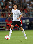Germany's Niklas Stark in action during the UEFA Under 21 Final at the Stadion Cracovia in Krakow. Picture date 30th June 2017. Picture credit should read: David Klein/Sportimage
