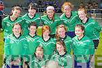 Spa NS Tralee skilful footballers at the County Primary Schools Football final in Beaufort on Thursday front row l-r:  front row l-r: Ciara Gaynor, Katie McCarthy. Middle row: Caoimhe Hannafin, Ciara Begley, Clodagh Ellard, Sophie Browne, Molly Savage. Back row: Katelyn McCarthy, Ciara O'Connor, Anna Farrell, Maeve Carmody and Kate Ellard