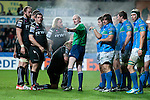 Heineken Cup - Ospreys v Treviso - Liberty Stadium - Swansea - UK - 12th October 2012 :                .Referee Neil Paterson (Scotland).