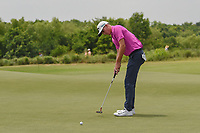 Andrew Wise (USA) watches his putt on 3 during round 3 of the AT&amp;T Byron Nelson, Trinity Forest Golf Club, at Dallas, Texas, USA. 5/19/2018.<br /> Picture: Golffile | Ken Murray<br /> <br /> <br /> All photo usage must carry mandatory copyright credit (&copy; Golffile | Ken Murray)