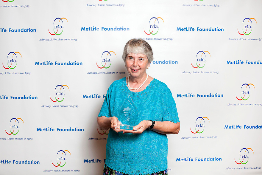 Marjorie Bronk a the Older Volunteers Enrich America Awards at the Double Tree Hotel in Washington, DC on Friday, June 17, 2011.