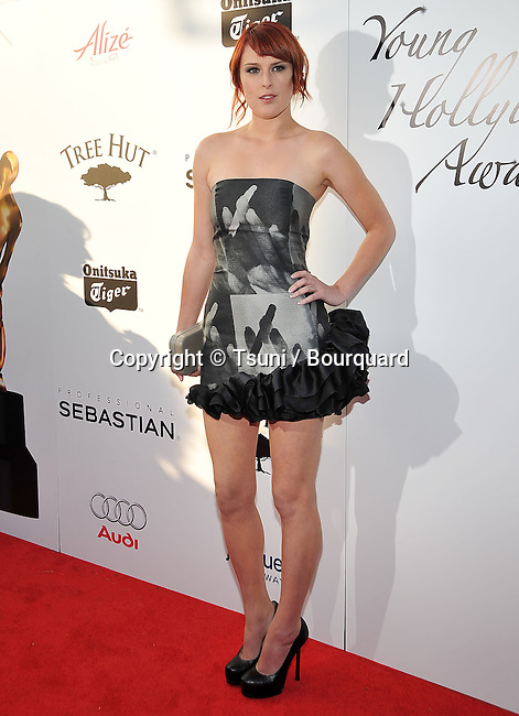 Rumer Willis -<br /> 11th Young Hollywood Awards at the Eli and Edythe Broad Stage in Los Angeles.