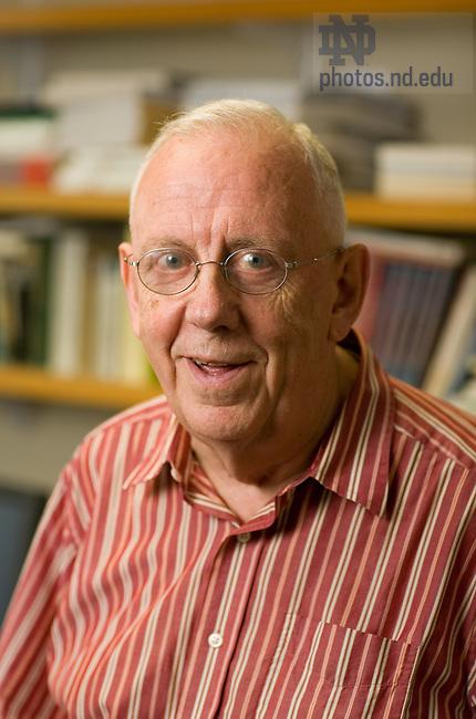 Alasdair MacIntyre..Photo by Bryce Richter/University of Notre Dame