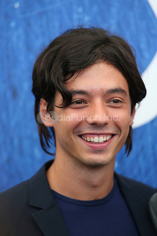 Guglielmo Poggi poses during a photocall of the movie 'L'Estate Addosso' presented out of competition at the 73rd Venice Film Festival on August 31, 2016 at Venice Lido.<br /> CAP/GOL<br /> &copy;GOL/Capital Pictures /MediaPunch ***NORTH AND SOUTH AMERICAS ONLY***
