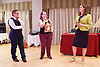 Stonewall and Liberal Democrats LGBTQ fringe meeting.<br /> Bournemouth, Great Britain <br /> 17th September 2017. <br /> <br /> Ruth Hunt <br /> Chief Executive of Stonewall <br /> <br /> Jennie Rigg - Chair <br /> <br /> Jo Swinson <br /> Deputy Leader of the Liberal Democrats <br /> <br /> Photograph by Elliott Franks <br /> Image licensed to Elliott Franks Photography Services