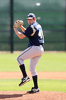 Evan Anundsen, Milwaukee Brewers 2010 minor league spring training..Photo by:  Bill Mitchell/Four Seam Images.