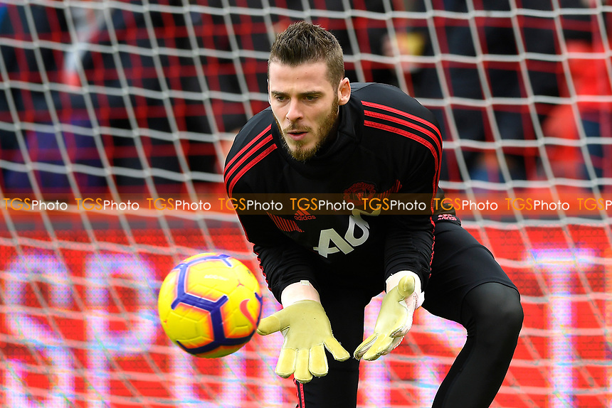 David De Gea of Manchester United during AFC Bournemouth vs Manchester United, Premier League Football at the Vitality Stadium on 3rd November 2018