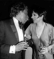 Gordon Parks Liza Minnelli 1981<br /> Photo By Adam Scull/PHOTOlink.net