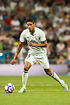 Raphael Varane of Real Madrid in action during their La Liga match at the Santiago Bernabeu Stadium between Real Madrid and RC Celta de Vigo on 27 August 2016 in Madrid, Spain. Photo by Diego Gonzalez Souto / Power Sport Images