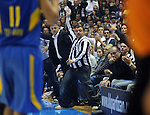 KOSARKA, BEOGRAD, 04. Nov. 2010. - Navijaci Partizana. Utakmica 3. kola Evrolige za sezonu 2010/2011 izmedju Partizana i Makabija odigrane u hali Pionir. Euroleague 2. round Partizan vs Maccabi Electra.  Foto: Nenad Negovanovic