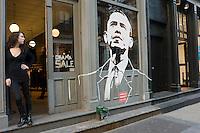 New York, NY - 31 October 2008 Obama sale in Soho.